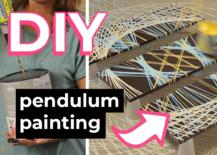 Decoist DIY: Pendulum Painting