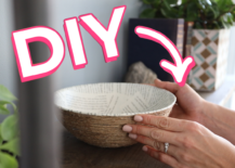 Decoist DIY: Book Page Rope Bowl