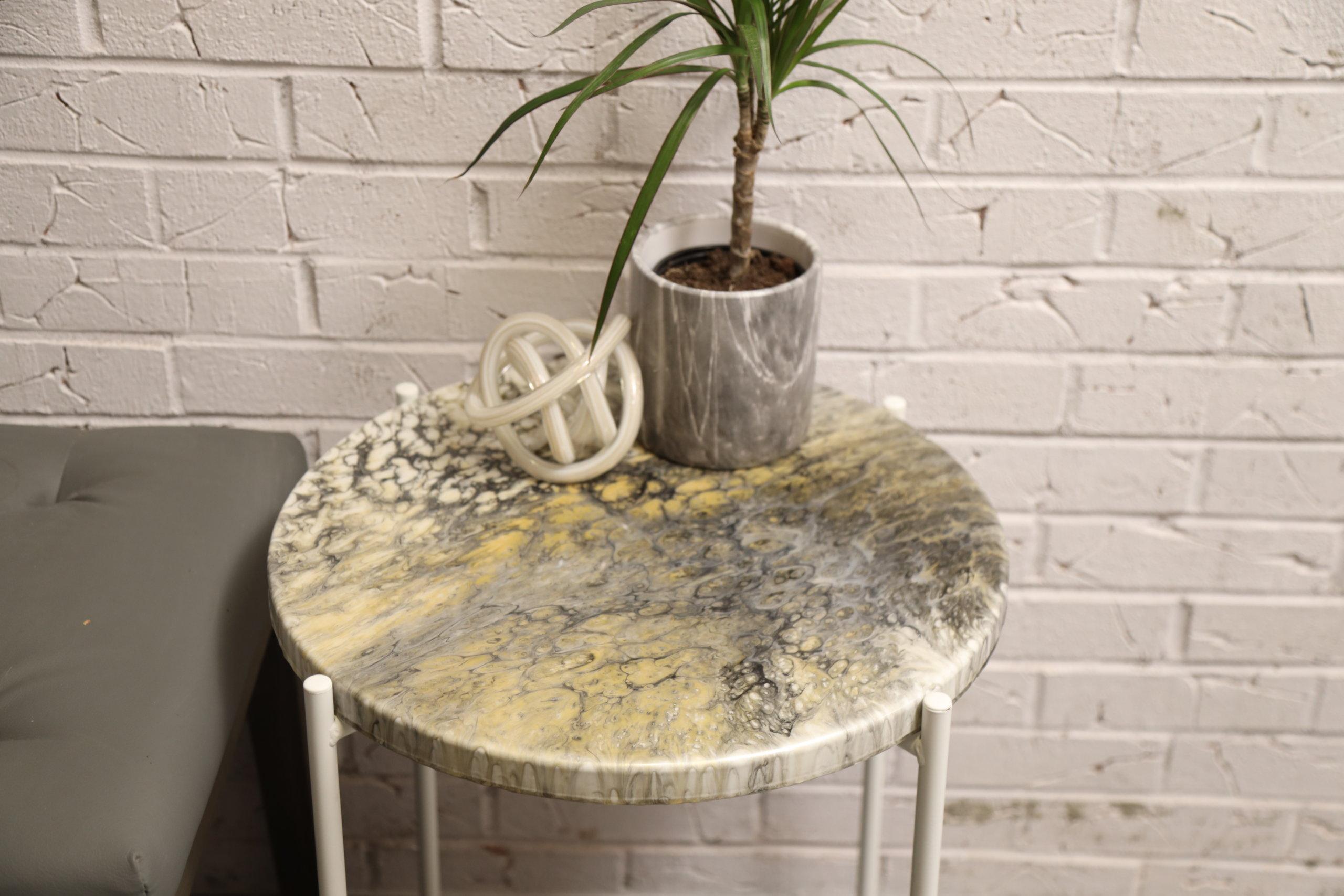 resin table beauty shot