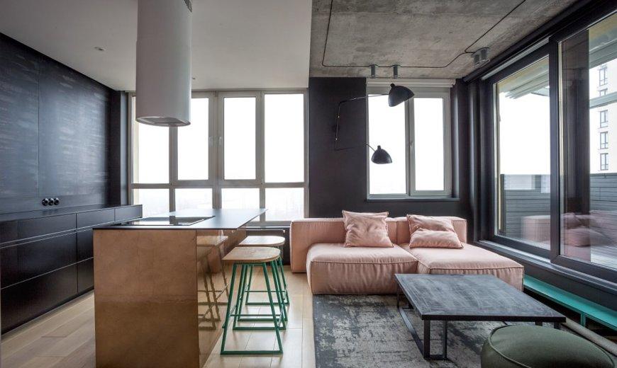 Pink 88: Crisp Use of Color and Urban Elegance at its Polished Best