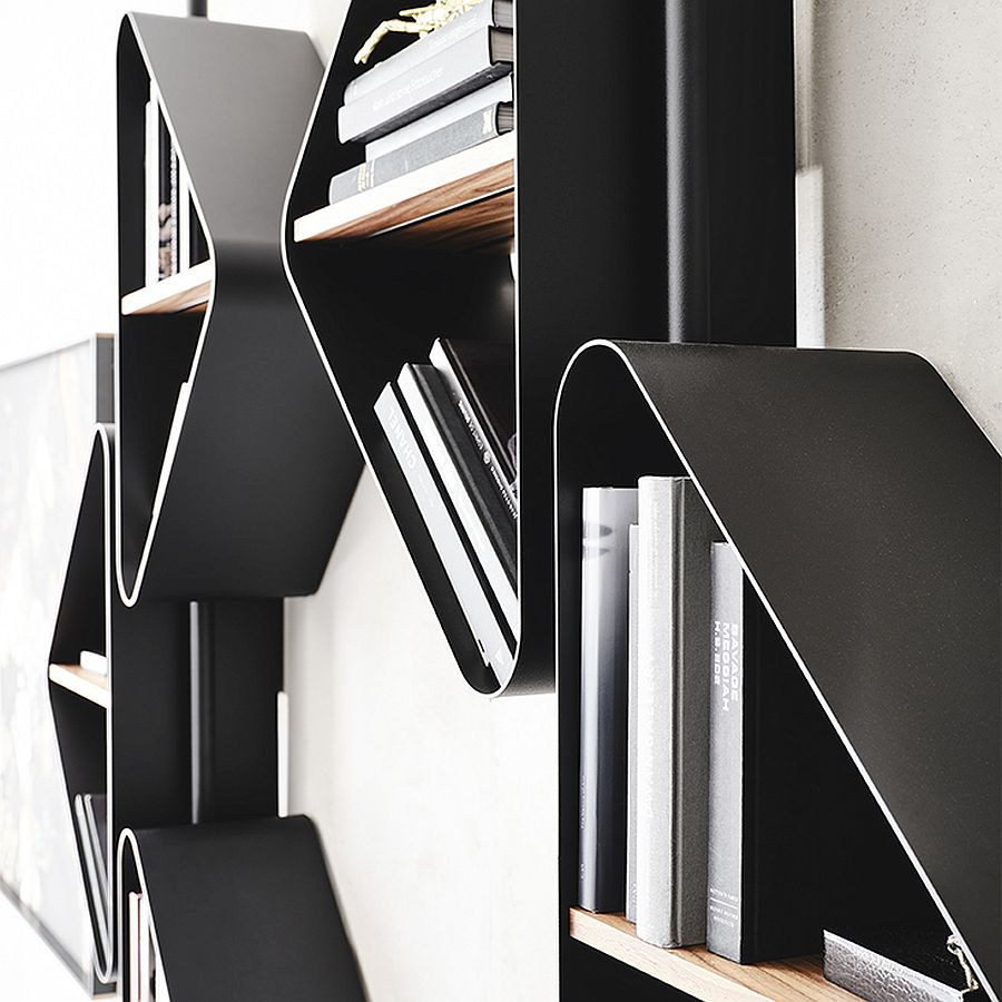 Closer look at the fabulous Spinnaker shelves from Cattelan Italia