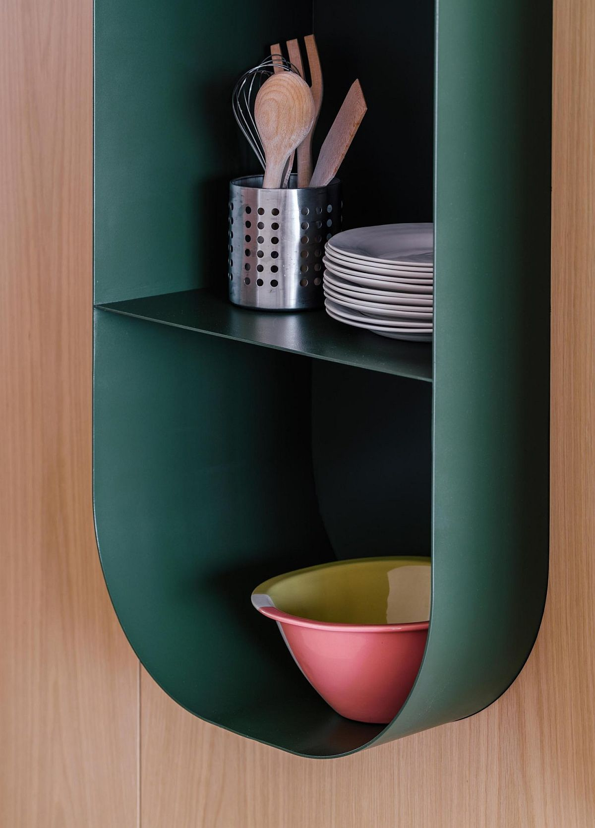 Closer look at the smart, modular bookshelf designed for Spanish home