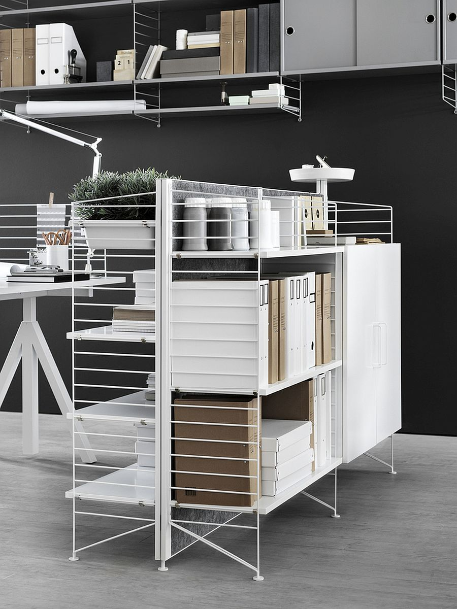 Compact and flexible string home office compositions fit in pretty much anywhere