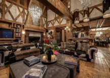 Cozy-couches-cowhide-rugs-and-lovely-chandiliers-create-a-sense-of-luxury-inisde-this-chalet-living-room-23462-217x155