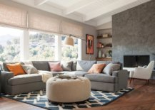 Dark-pattern-of-the-rug-makes-a-big-impact-in-this-modern-neutral-living-room-60750-217x155
