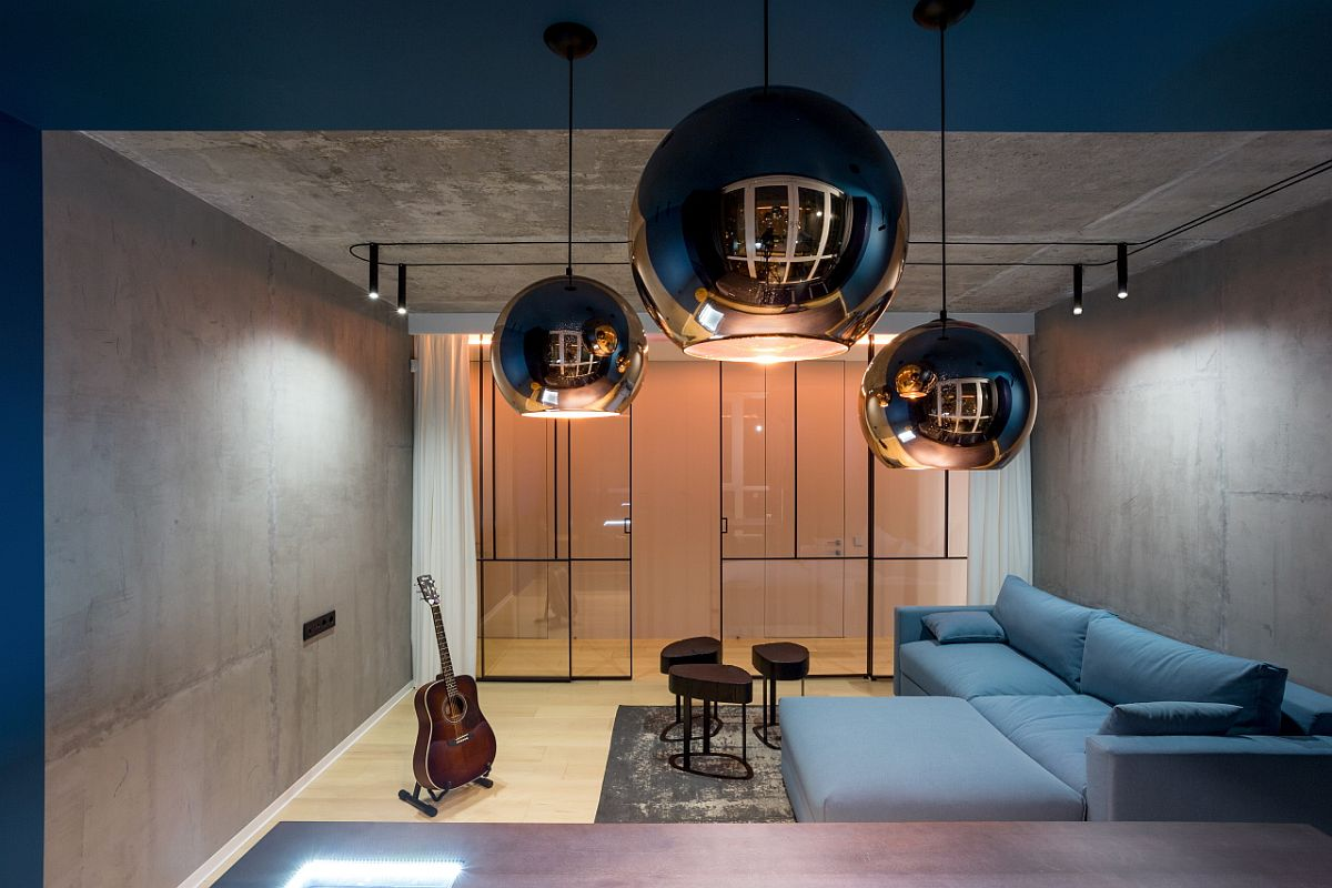 Dazzling pendant lights for the modern minimal dining room