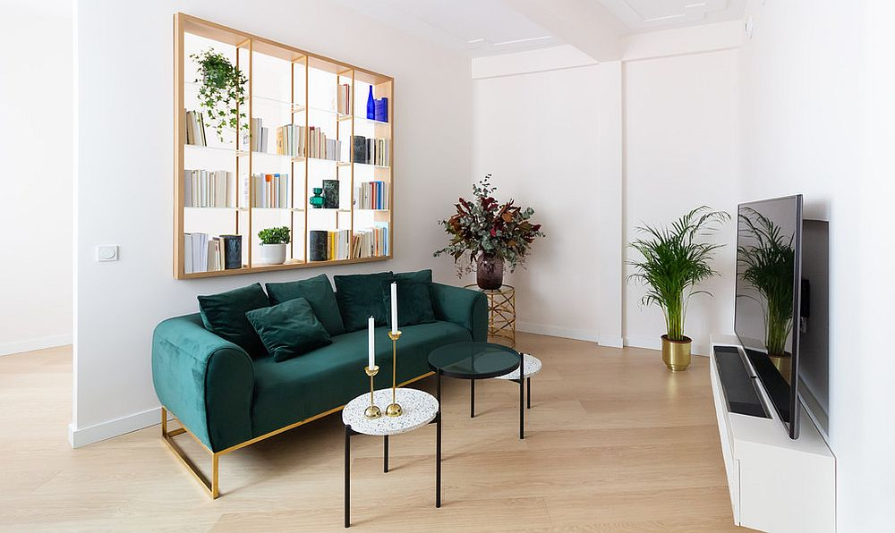 Find a bookshelf that suits the specific style of your modern living space