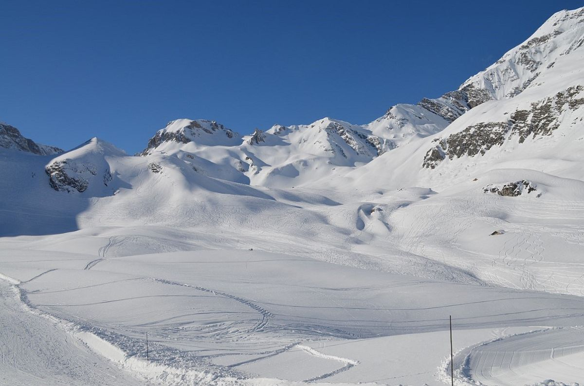 Iconic la face piste is always in sight at the beautiful Chalet Bel Sol