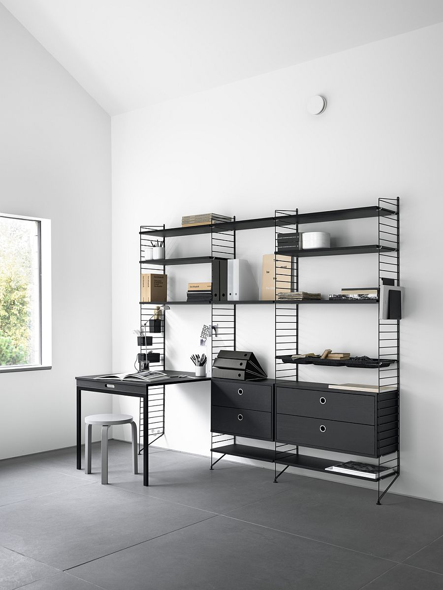 Ingenious String Workspace in black and ash