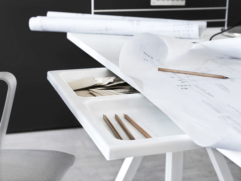 Innovative workspace solutions from String make a difference with their adaptable and ergonomic designs