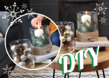 Decoist DIY: Winter Wonderland Centerpiece