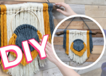 Decoist DIY: Knot And Tassel Hanging Wall Decor