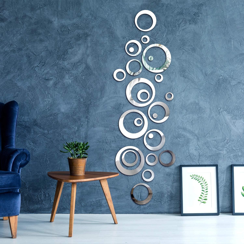 Blue wall with swirl pattern