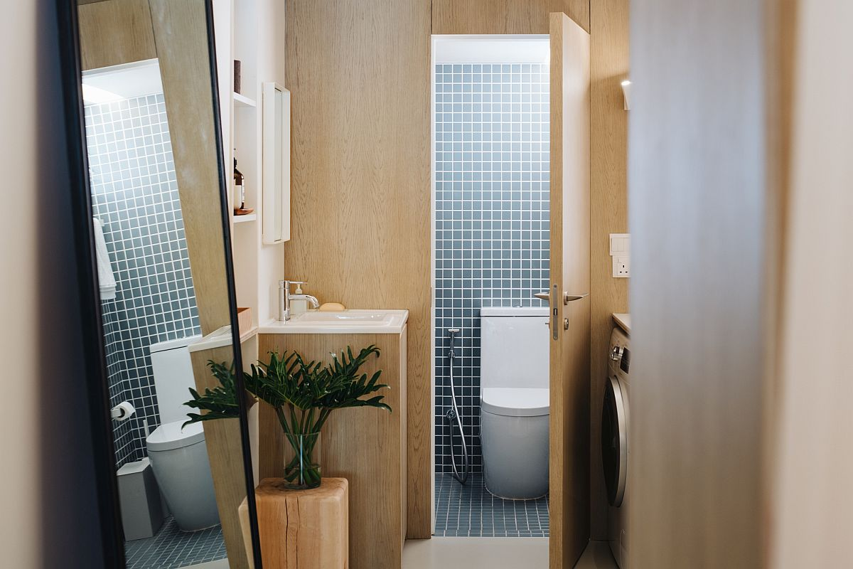 Custom-tiles-add-pattern-to-the-bathroom-in-wood-and-white-39347