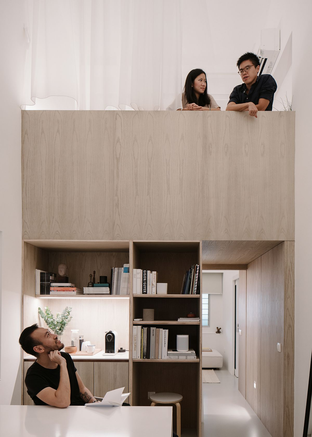 Finding New Space and Purpose for HDB Apartment in Singapore: Office and Home