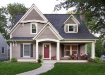 Light-and-dark-gray-coupled-with-a-cheerful-red-door-combine-modernity-with-timeless-charm-80706-217x155