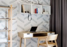 Modern-Scandinavian-style-home-office-in-Russian-home-in-neutral-hues-with-pattern-in-the-backdrop-96348-217x155