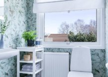 Modern-Scandinavian-style-powder-room-with-floral-pattern-wallpaper-and-light-blue-backdrop-55711-217x155