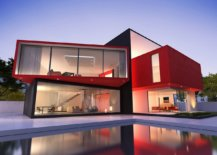 Modern-minimal-home-exterior-in-black-and-red-66682-217x155