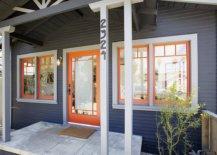 Orange-door-and-window-frames-bring-brightness-to-this-dark-gray-home-exterior-24637-217x155