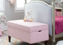 This toy storage could also serve as furniture