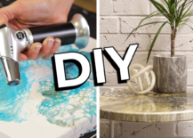 Decoist DIY: Fluid Painting 3 Ways
