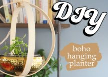 Decoist DIY: Boho Hanging Planter
