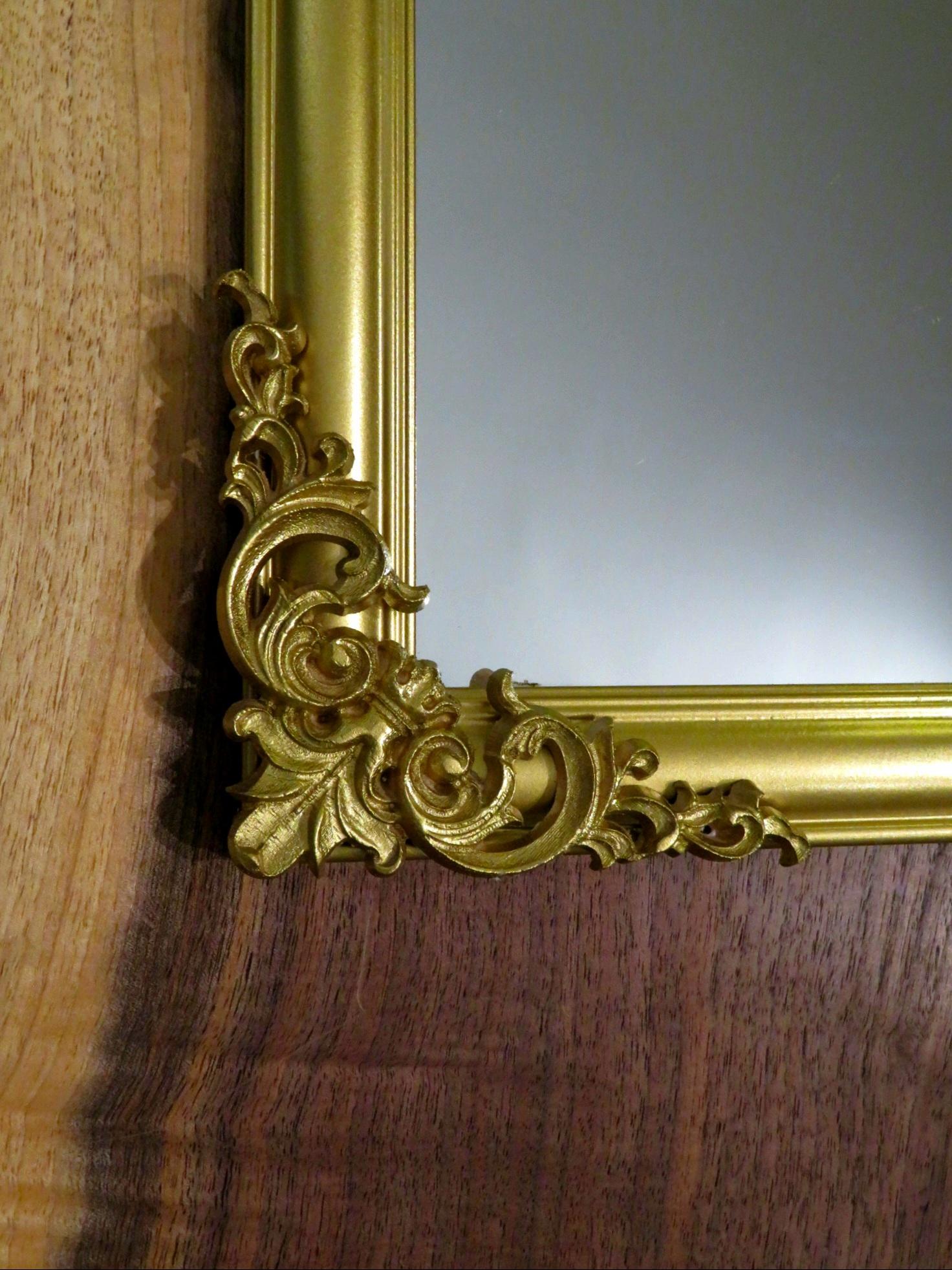 DIY Vintage Mirror Project