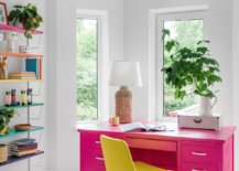 Brilliant-hot-pink-desk-and-bright-yellow-chair-steal-the-show-in-this-contemporary-home-office-11878-217x155