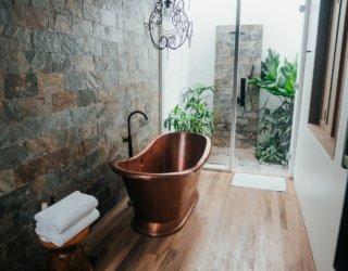 20 Breathtaking Bathroom Floor Ideas