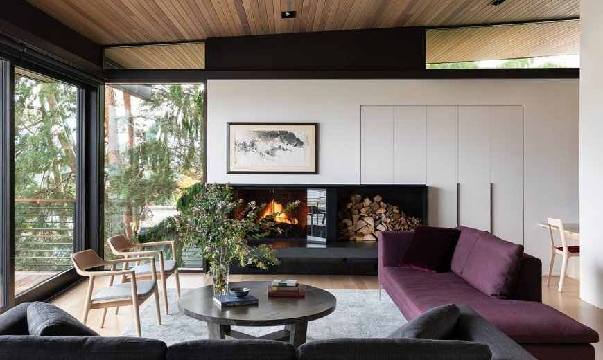 Building for Tomorrow: Mountain and Lake Views Shape Modern Seattle Home