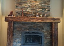 Fireplace Rustic Mantel