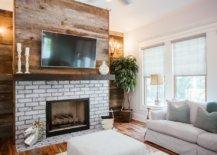 Fireplace Wooden Mantel