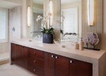 Gorgeous-scone-light-bring-mid-century-elegance-to-this-lovely-bathroom-vanity-93102-217x155