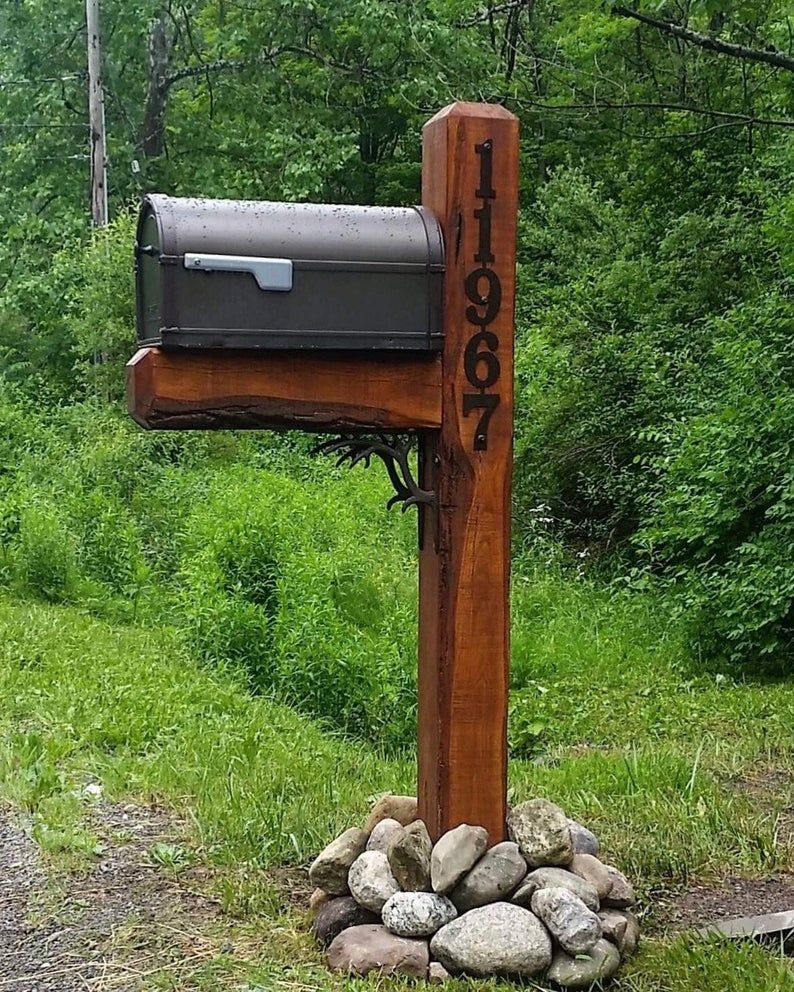 House Number on Mailbox