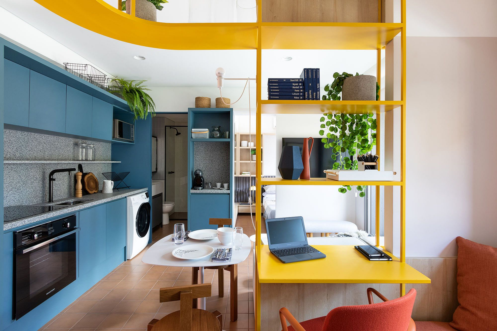 Interior of La Vida Residencial Building designed by Todos Arquitetura in Sao Paulo