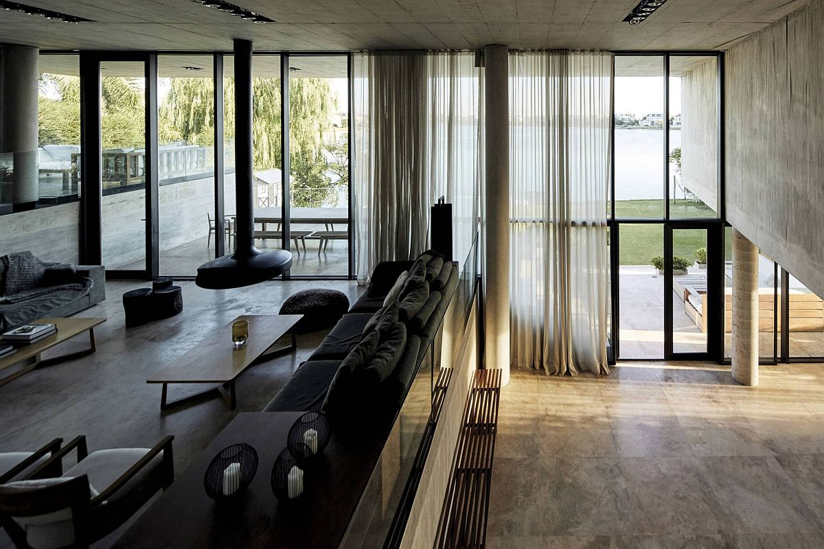 Large-sheer-curtains-filter-natural-light-into-the-multi-level-interior-93293