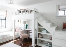 Loft-bed-in-the-shared-white-kids-room-with-ample-storage-and-study-space-underneath-56715-217x155