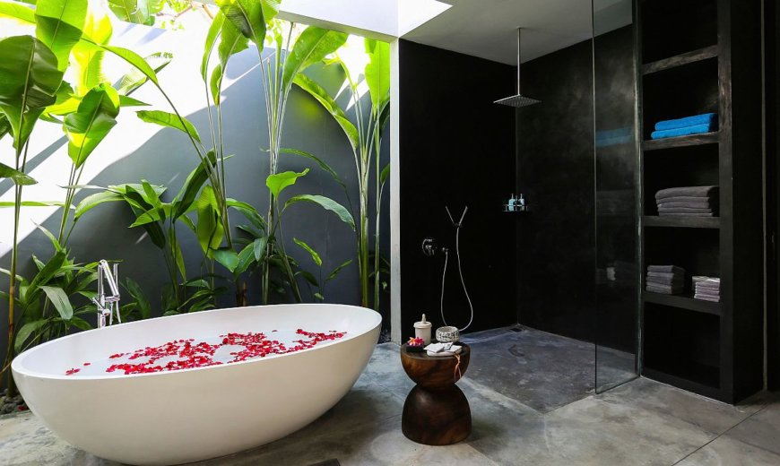 Early Hot Bathroom Trends for 2021: Color, Pattern and a Hint of Luxury