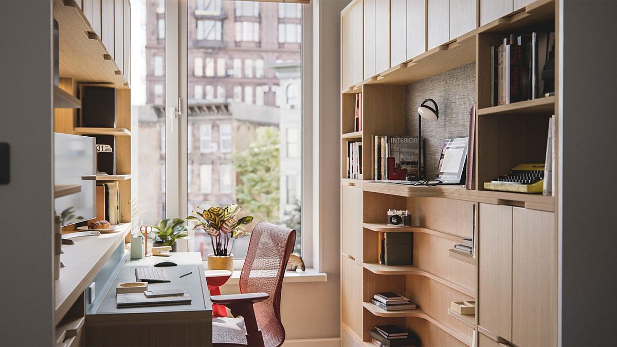 Floating Desks and Smart Space-Savers for the Modern Office