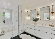 Timeless-modern-bathroom-design-in-white-with-sconce-lights-that-make-an-instant-impact-87741-217x155