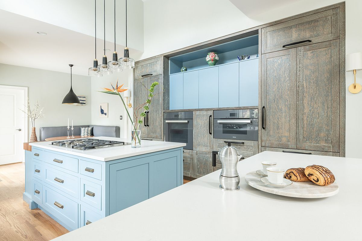 Uber-light-blue-cabinets-along-with-a-matching-kithen-island-usher-in-subtle-beach-style-77890