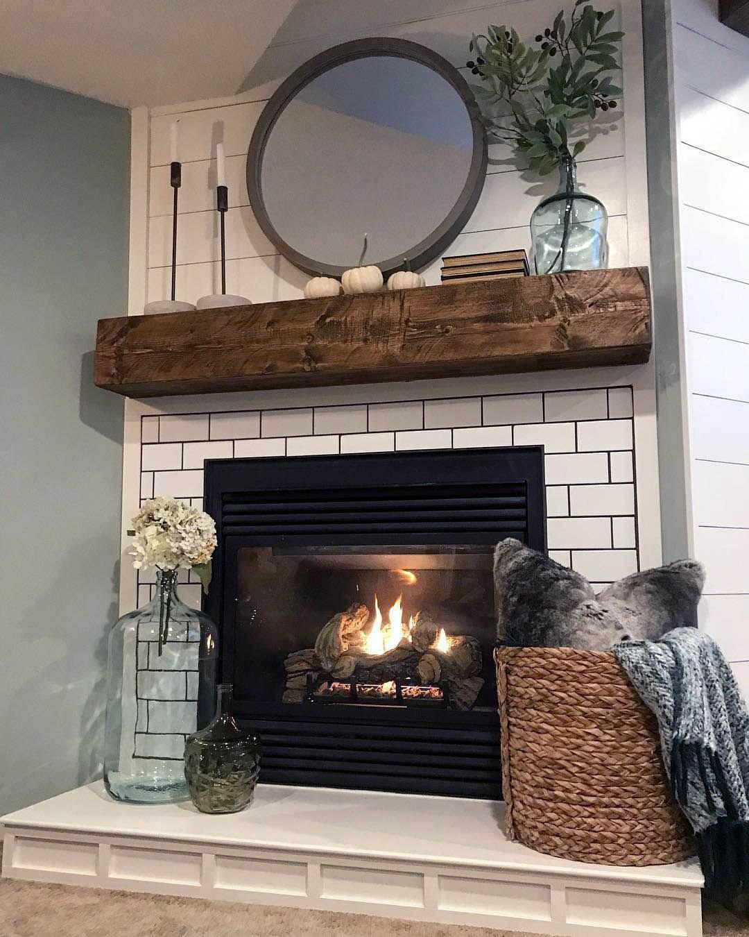 Unique Mantel for Fireplace