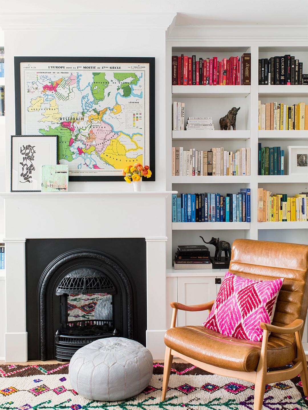 Unique frame for Fireplace Mantel