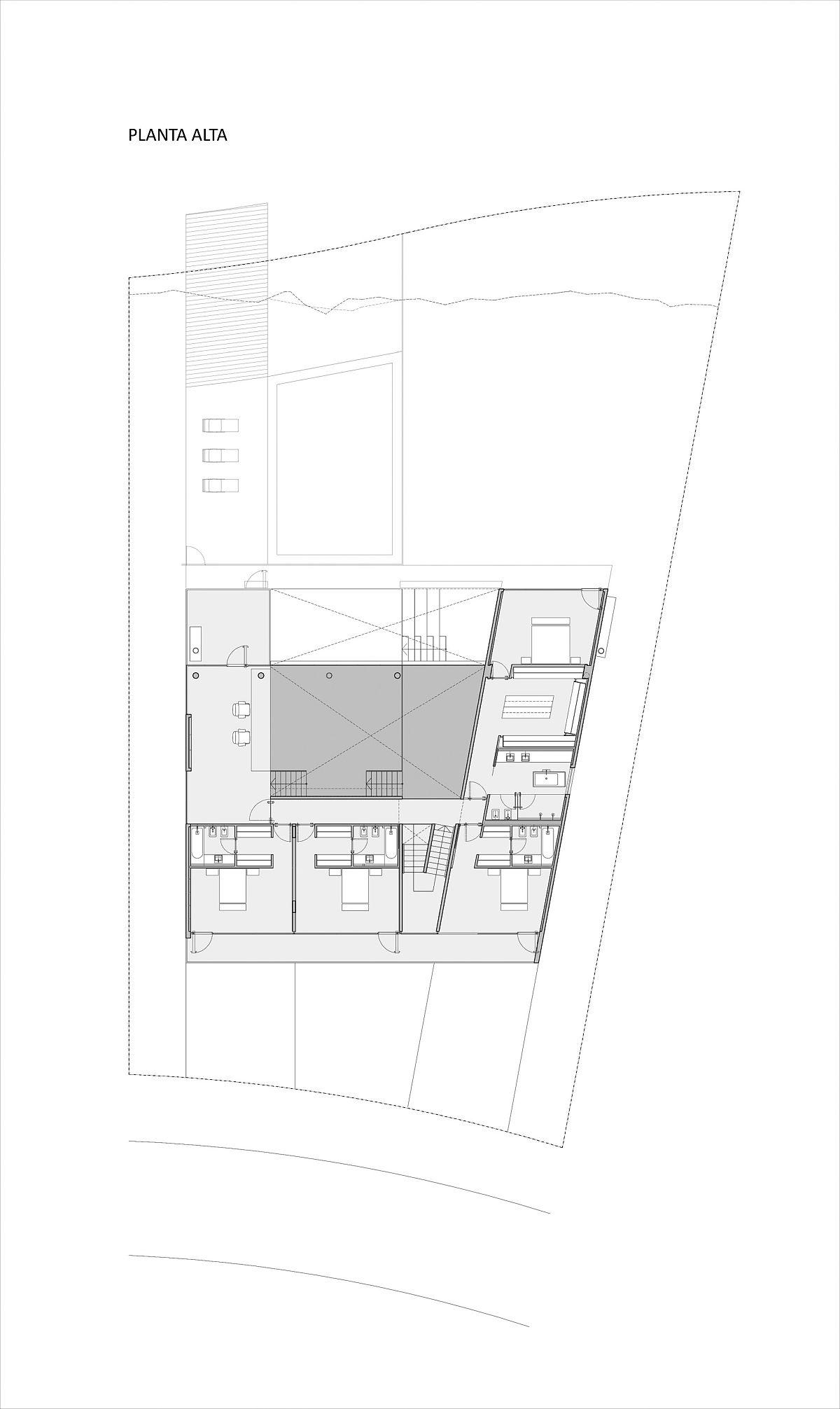 Upper-level-floor-plan-of-modern-Castores-House-in-Buenos-Aries-89130