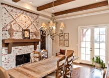 Weathered-brick-wall-backdrop-in-the-dining-room-gives-it-a-timeless-look-19417-217x155