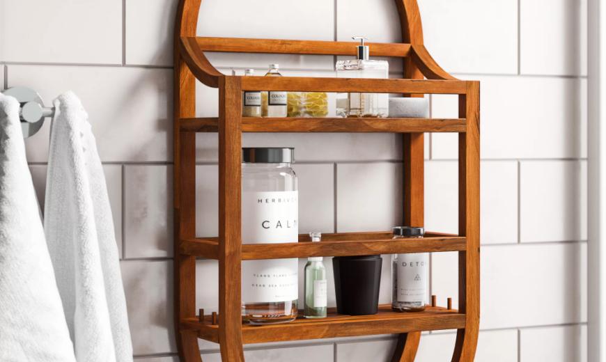 8 Impeccable Shower Storage Ideas