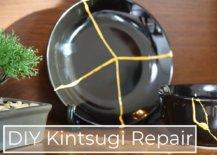 Decoist DIY: Kintsugi Ceramic Repair - Easy Minimal Epoxy
