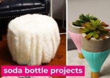 Decoist DIY: Upcycled Soda Bottles