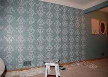 Wall stencil design